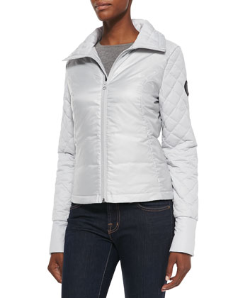 Clairmont High-Sheen Short Puffer Jacket