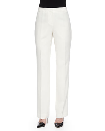 Barrow Finesse Crepe Pants, Cloud