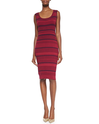 Sleeveless Ribbed Vanise Dress