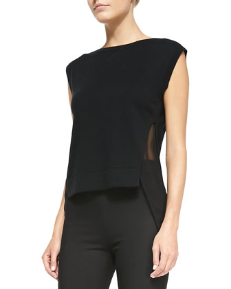 Nabiel C Boxy Suit Jacket, Umalda Fluidity Cap-Sleeve Top & High-Waist ...
