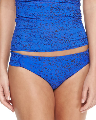 Second Skin Convertible Bandini Top & Ruch-Side Swim Bottom