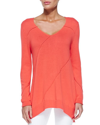Swing Seamed Easy Top
