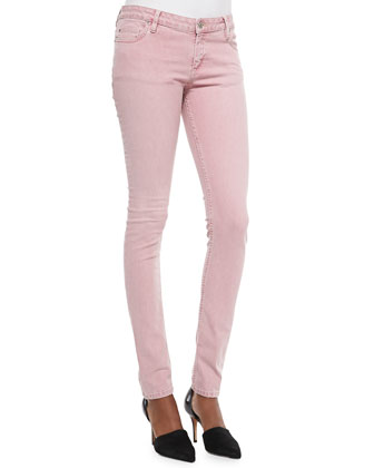 Narkyce Fitted Denim Slim Jeans