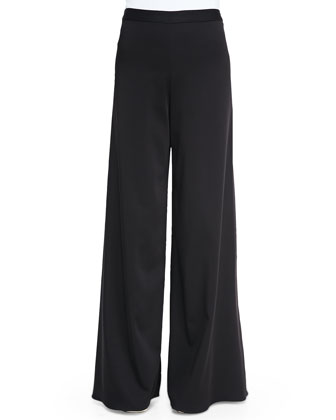 Super-Flare Wide-Leg Pants