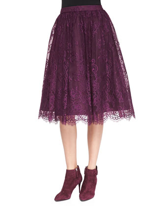 Perkins Full Lace Skirt
