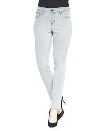 Shadow Denim Sophia Skinny Jeans, Gray