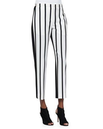 Malick Striped Tapered Pants