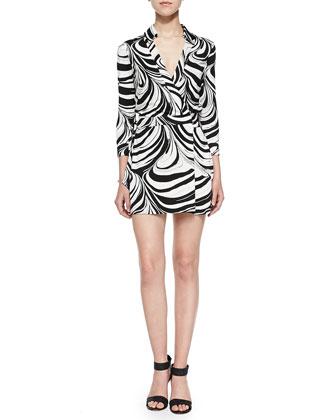 Celeste Jersey Wrap Dress