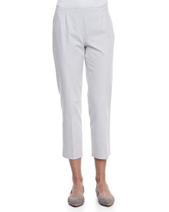 Bi-Stretch Cropped Pants