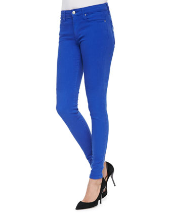 Mid-Rise Super Skinny Jeans, Surf