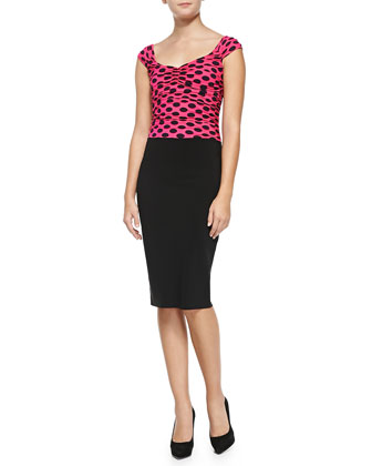 Laila Polka Dot Top Dress