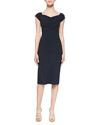 Stelvia Ruched Cocktail Dress