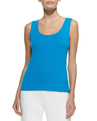Cotton Rib Tank, Women's