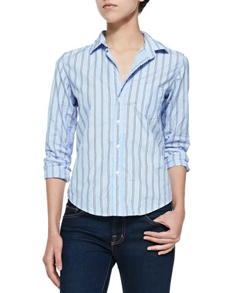 Limited Edition Striped Button-Down Shirt