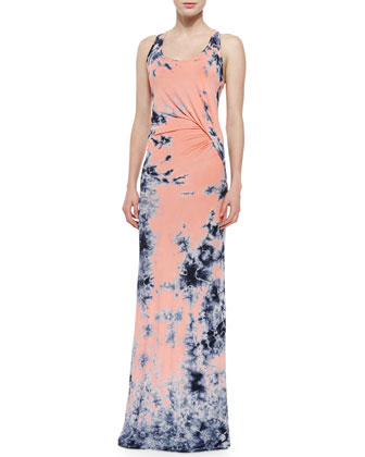 Nono Tie-Dye Jersey Maxi Dress