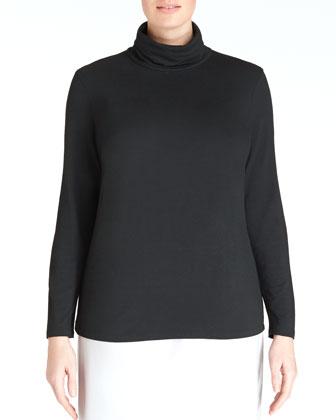 Long-Sleeve Turtleneck, Women's