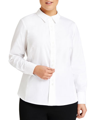 Francine Button-Front Blouse, Women's