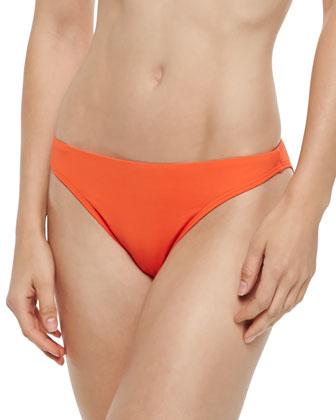Twist-Front Bandeau Swim Top, Classic Swim Bottom & Tie-Dye Coverup Pants