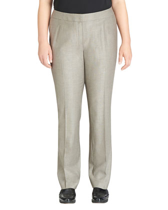 Crosby Straight-Leg Ankle Pants, Women's