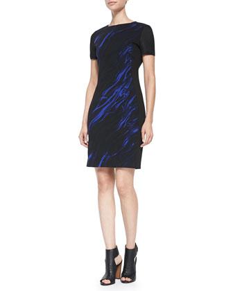 Avani Printed Sheath Dress