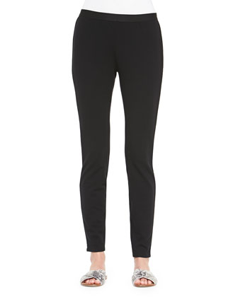 French Terry Leggings, Black, Women's