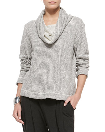 Twisted Terry Box Top, Women's