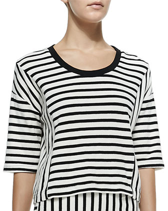 Oasis Striped Knit Top