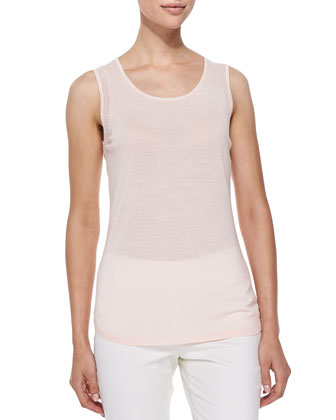 Trinity Scoop-Neck Merino Tank