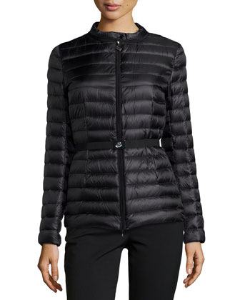 Damas Quilted Puffer Jacket, Black