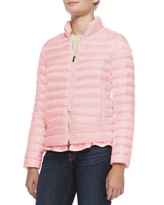 Blein Puffer Jacket, Light Pink