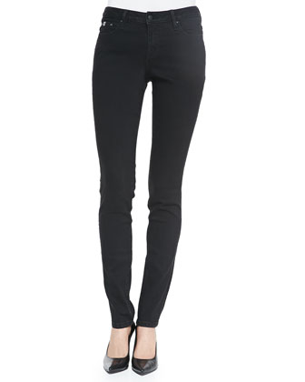 Sophia Denim Skinny Jeans, Black