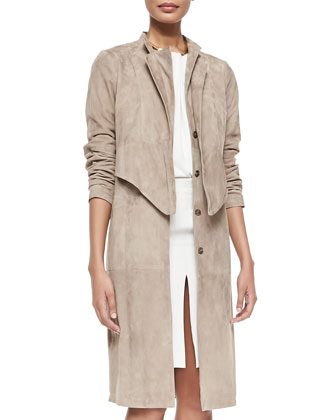 Double Layer Trenchcoat, Stone