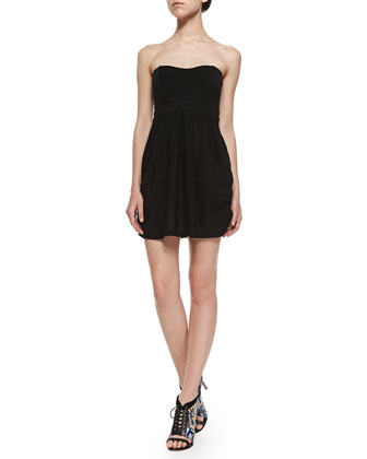 Nyima Strapless Combo Mini Dress