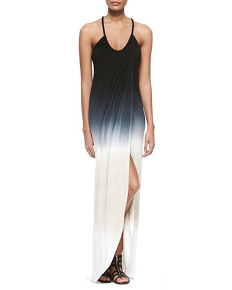 Lexie Ombre Slub Maxi Dress