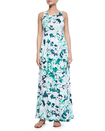 Waterville Floral-Print Maxi Dress