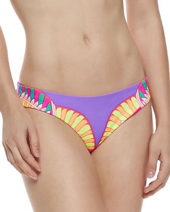 Reversible Racerback Swim Top & Low-Rise Swim Bottom