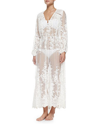 Essence Silk Veil Gathered Dress