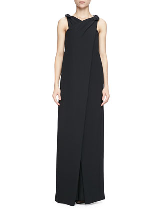 Jeanette Wide-Leg Jumpsuit W/ Ties