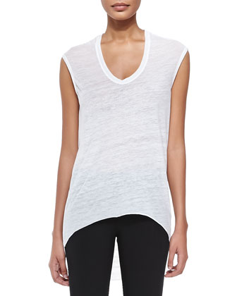 Threadbare Cowl-Back Tee