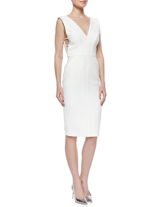 Cutout Catsuit-Top Sheath Dress