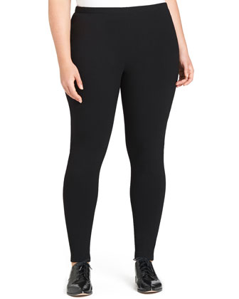 Punto Milano Leggings, Black, Women's