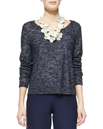 Karma Jacquard Box Top