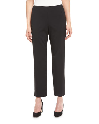 Stanton Cropped Pants, Black, Women's