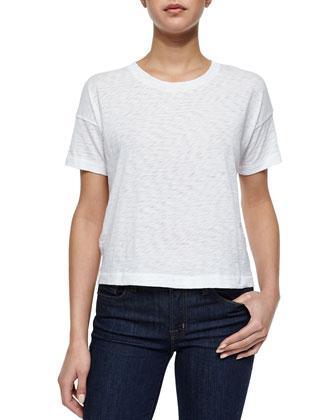 Suzanne Slub-Knit T-Shirt