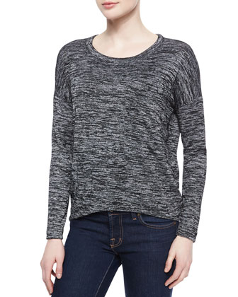 Giada Long-Sleeve Knit Tee
