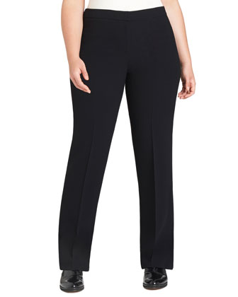 Barrow Straight-Leg Pants, Black, Women's