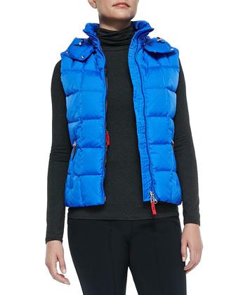 Calie Hooded Puffer Vest & Elaine Sport Pants