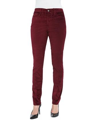Maggie Velveteen Skinny Jeans