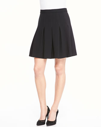 Gemma Mini Skirt W/ Godets