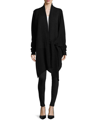 Tie-Front Cozy Coat